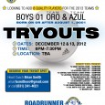 B01 BU11 Roadrunner United FC Oro and Azul teams looking to add 8 quality players to their squads. Click Here To Download Tryout Flier