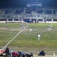 Frontier High Stadium Bakersfield, CA 6:15pm Kickoff 1-0 Half time, Frontier. 1-0 Final, Frontier.