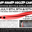 Welcoming boys & girls ages 10-15. July 8th, 9th, 10th. at The Zone, 4301 Resnik CT, Bakersfield. $175 per person. CAMP T-Shirt included Register by 6/27 – LIMITED Space Contact: […]