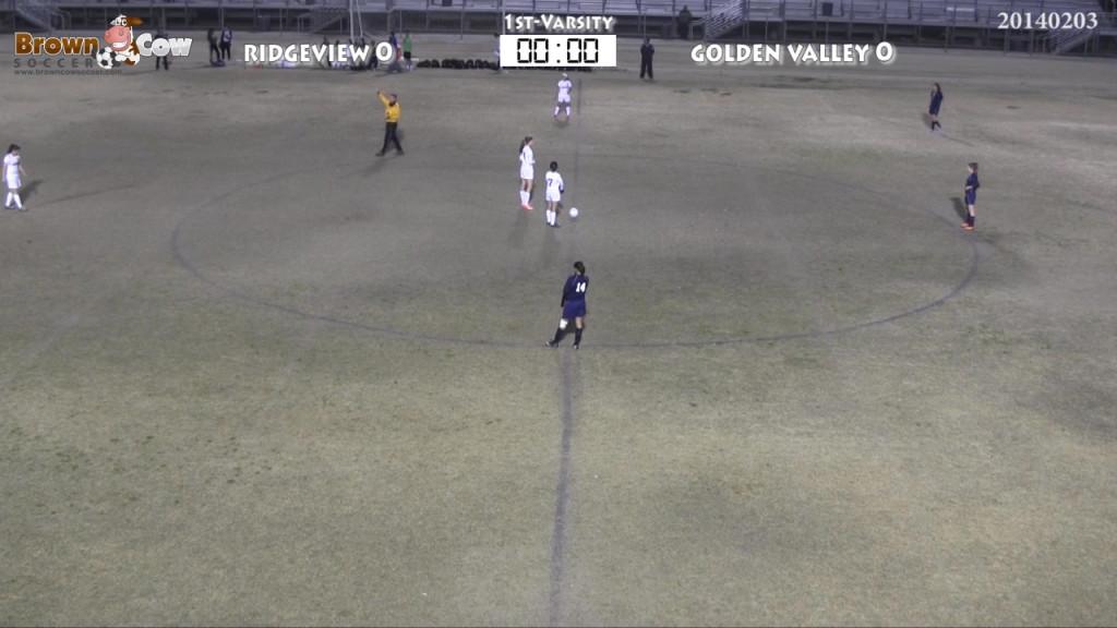 20140203 HS Varsity Girls Soccer - Golden Valley v Ridgeview-featured