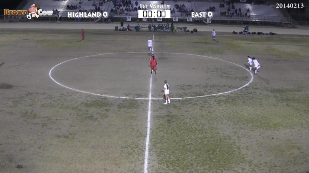 20140213 HS Varsity Girls Soccer - East v Highland-featured