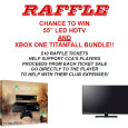 $10 gives you a chance to win a brand new Xbox One TitanFull bundle with a brand new 55″ LCD HDTV Raffle to be held May 25, 2014. I will […]