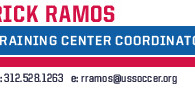 """From: Rick Ramos Date: July 29, 2014 at 8:09:47 PM PDT To: """"ricardosoccer9@yahoo.com"""" Subject: U.S. Soccer Training Center Local Combine Good evening, Attached you will find an invitation for the […]"""