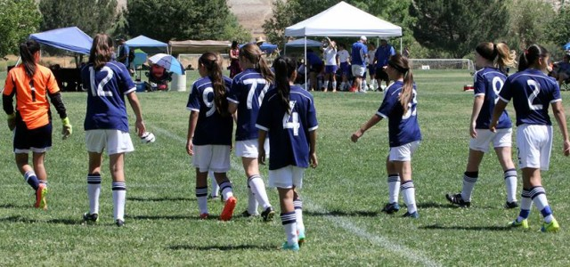 2015 Cali Crown Classic GU12 Semifinals 10:30am kickoff Field 19 Kern County Soccer Park