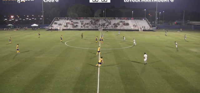 2015-09-11 NCAA Mens Soccer: CSU Bakersfield (2) v Loyola Marymount (3) CSUB Main Soccer Field 7:30pm kickoff Bakersfield, CA Highlights Password required to view full game video